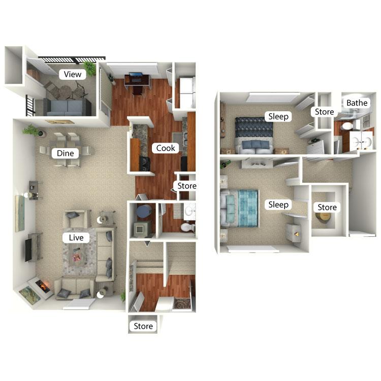 Floor plan image of Wawasee