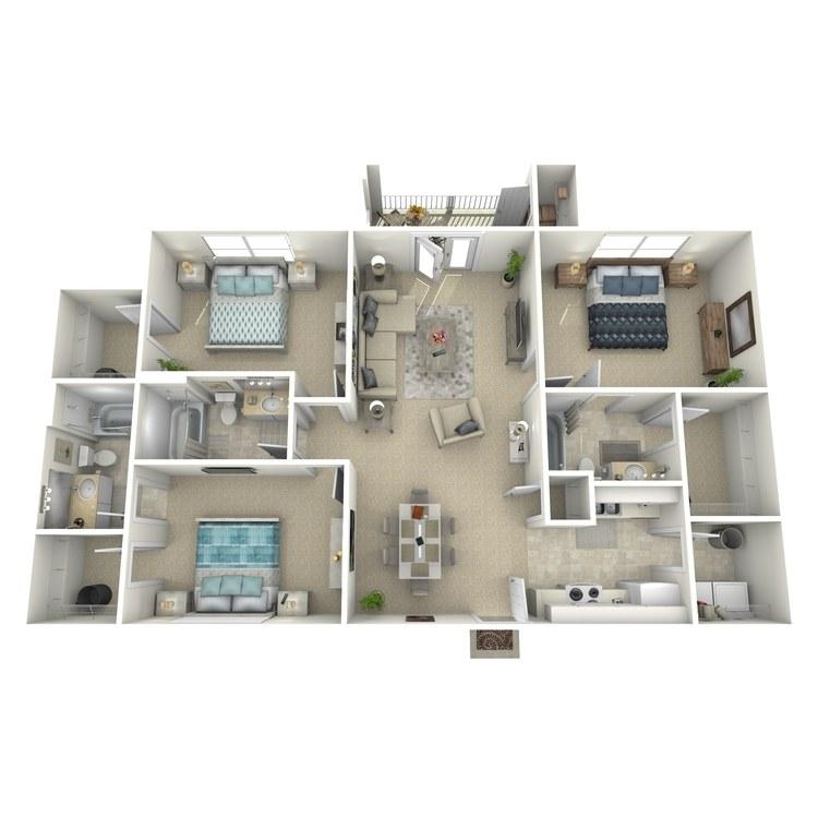 Floor plan image of Creston