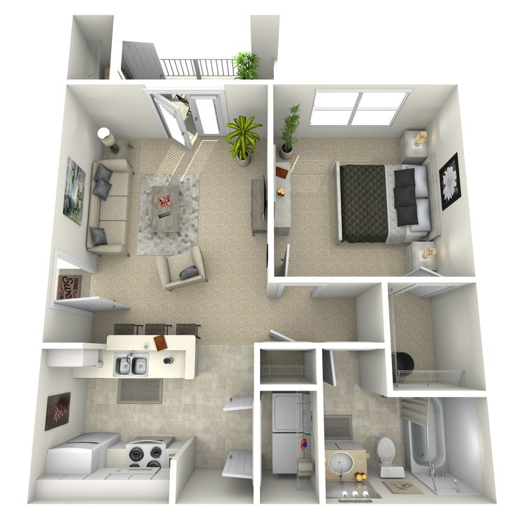 Floor plan image of Avery