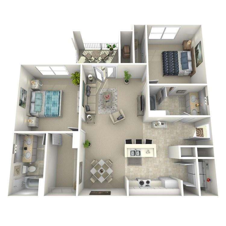 Floor plan image of Belmont