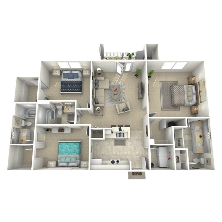 Floor plan image of Claremont