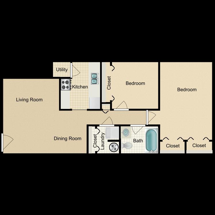 The Windsor floor plan image