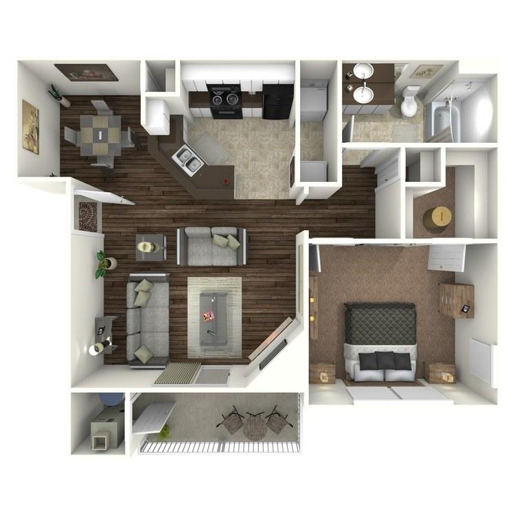 Floor plan image of Pinehurst