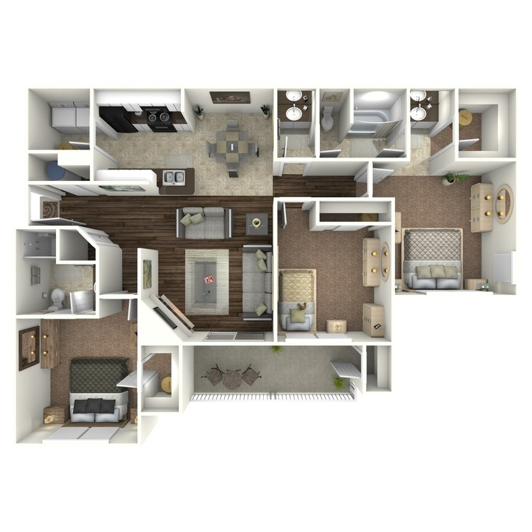 Floor plan image of St. Andrew