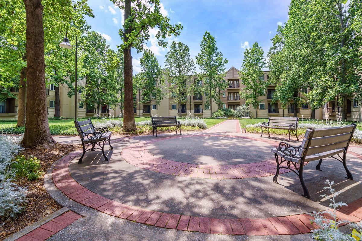 Courtyard at Village at Vanderbilt