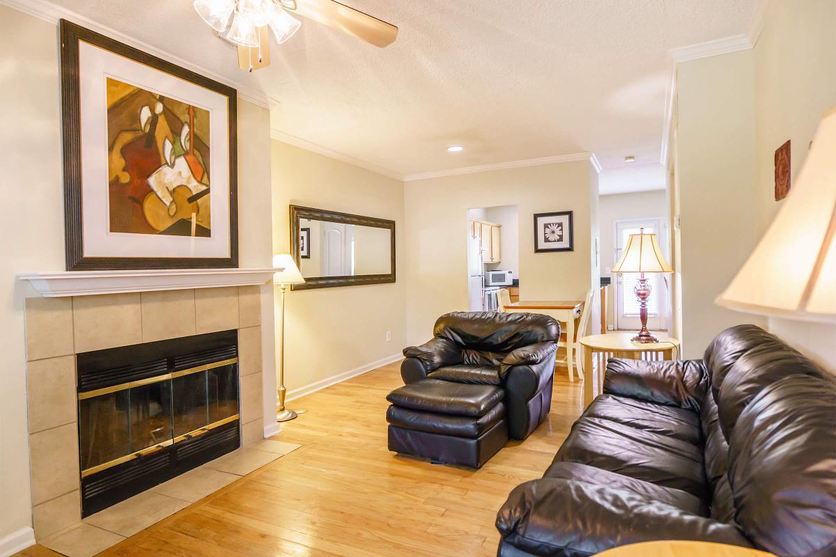 Two Bedroom Floor Plan at Village at Vanderbilt