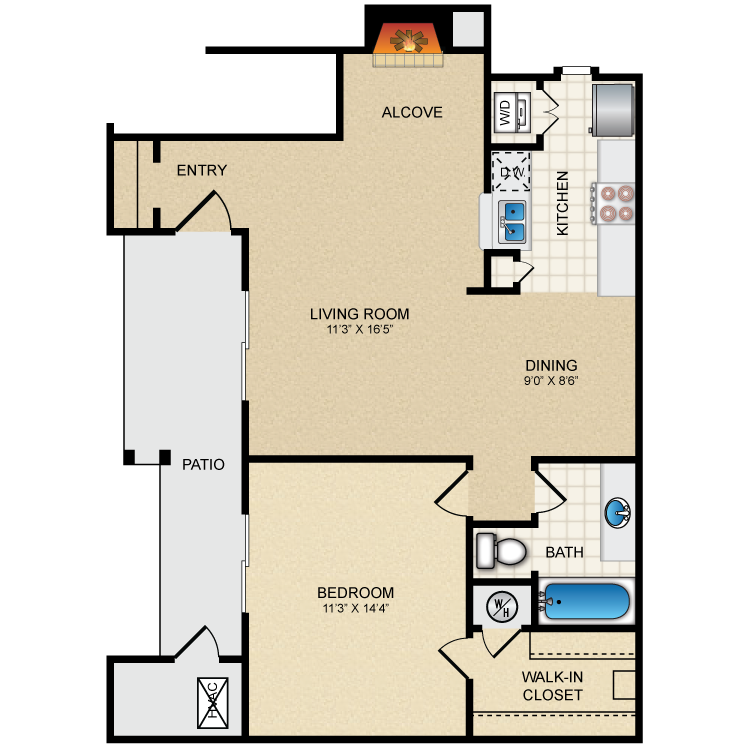 Floor plan image of The Claridge