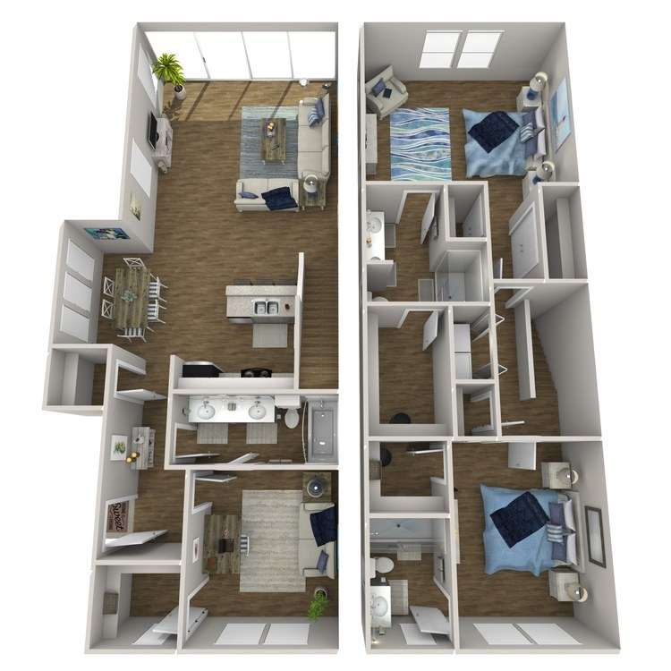 Floor plan image of Cerulean
