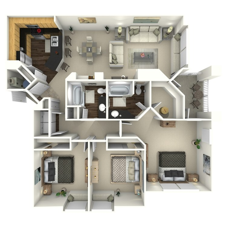 Floor plan image of Snowcloud