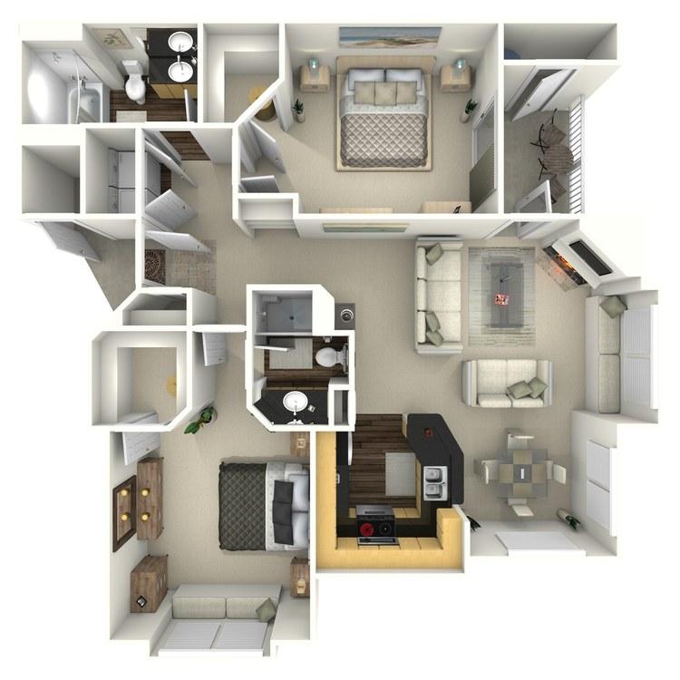 Floor plan image of Rainmesa