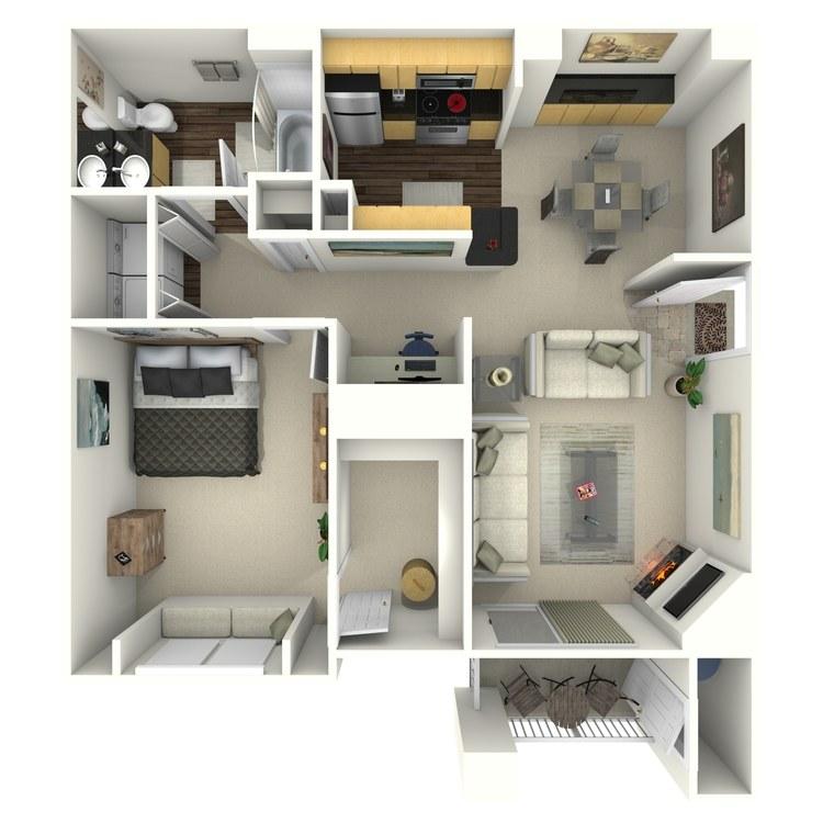 Floor plan image of Windflower