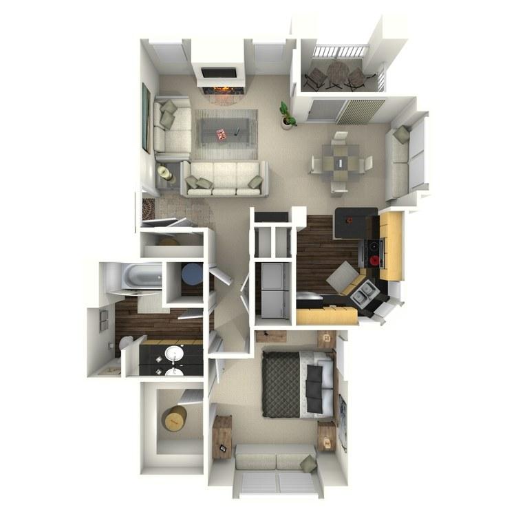 Floor plan image of Starfield
