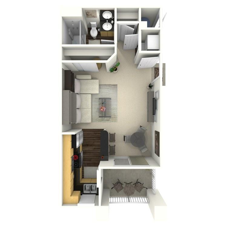 Floor plan image of Summersky