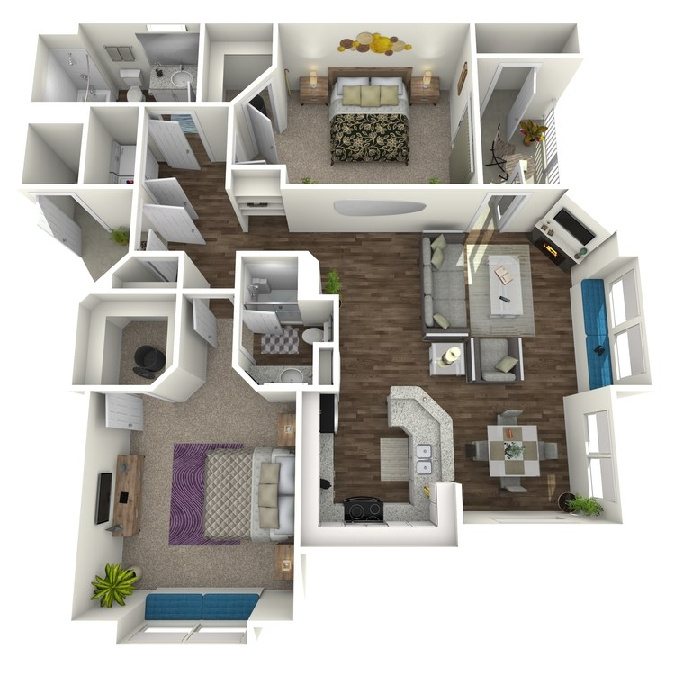 Floor plan image of Rainmesa