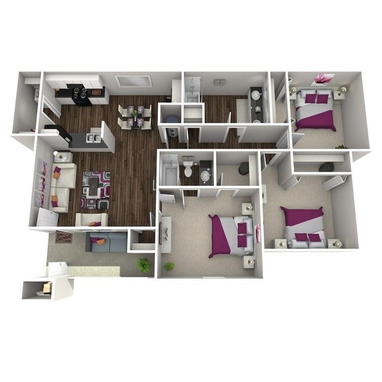 Floor plan image of Cammellia