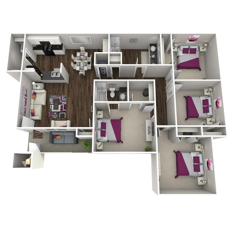 Floor plan image of Daphne