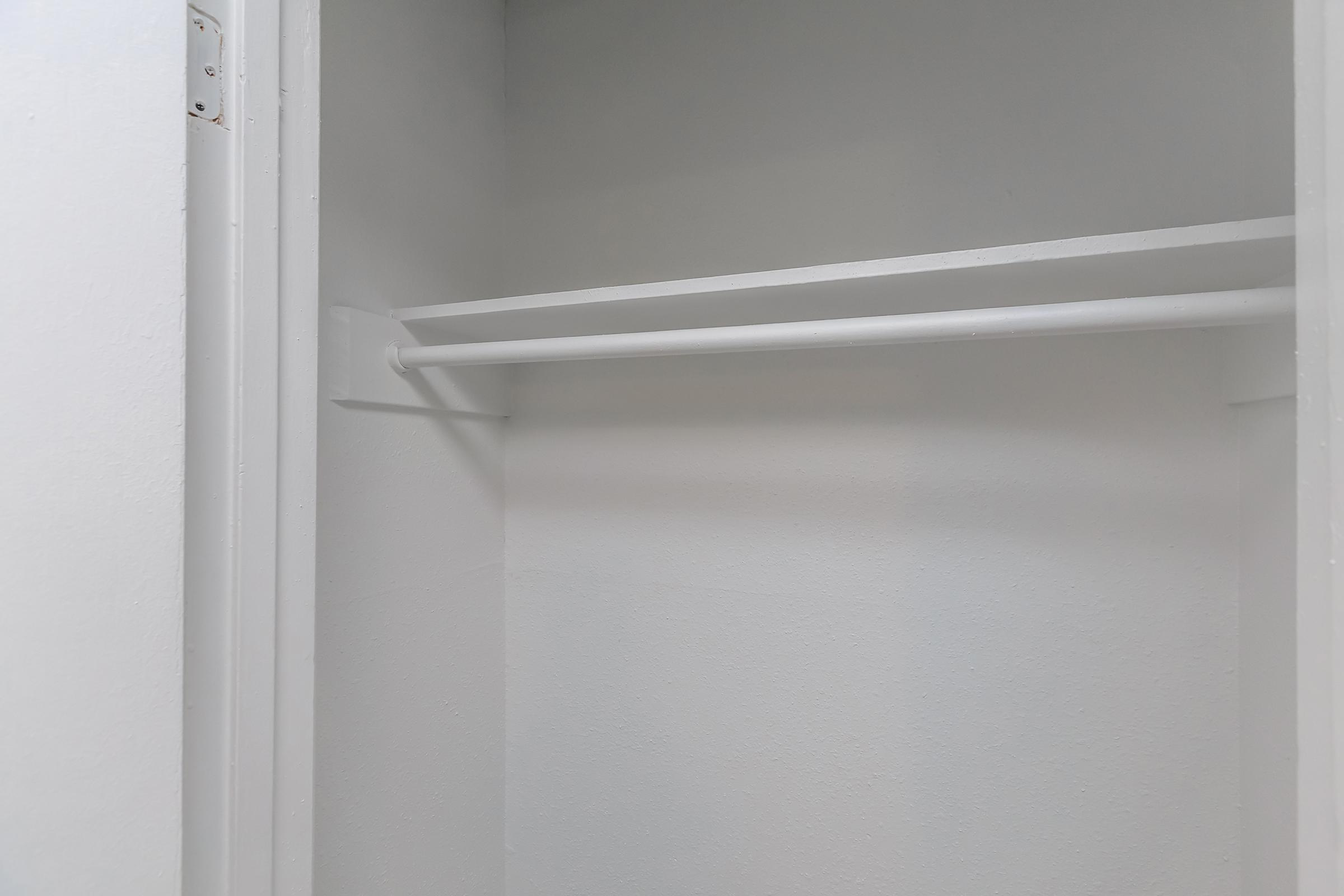 a white brown door
