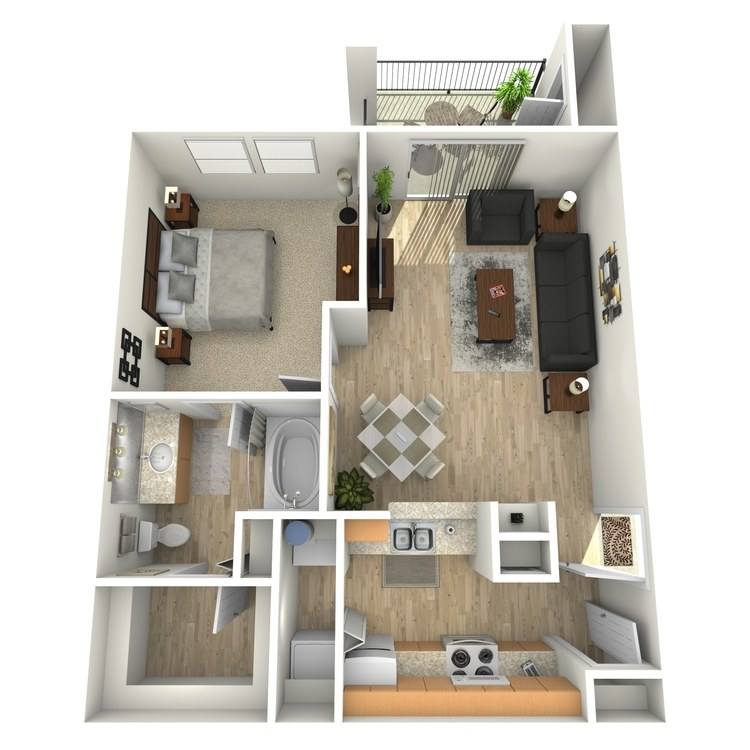 Floor plan image of Cedar Elm
