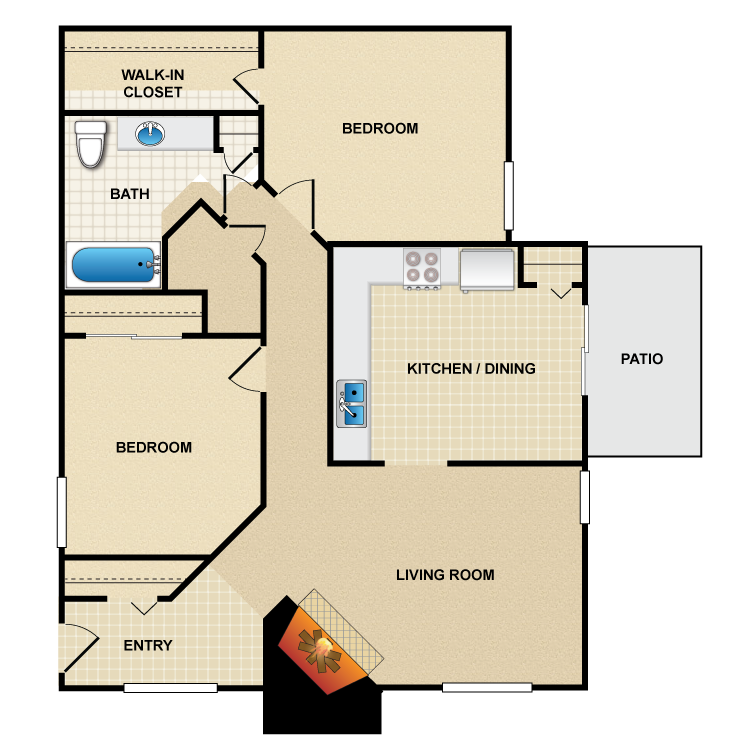 Floor plan image of B2 Casa Grande