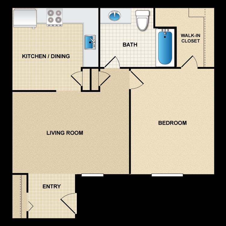 Floor plan image of A3 Rio Grande