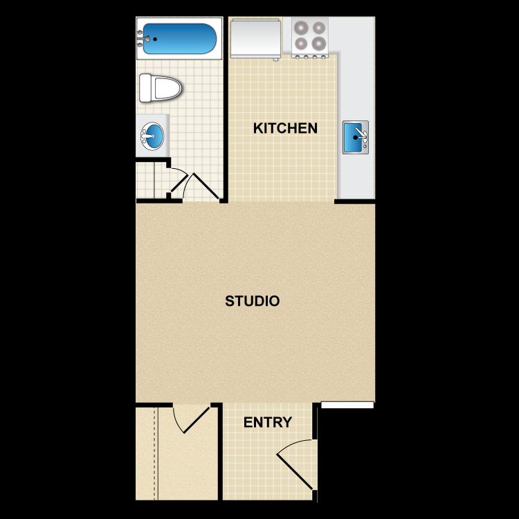 Floor plan image of S1 Santa Fe