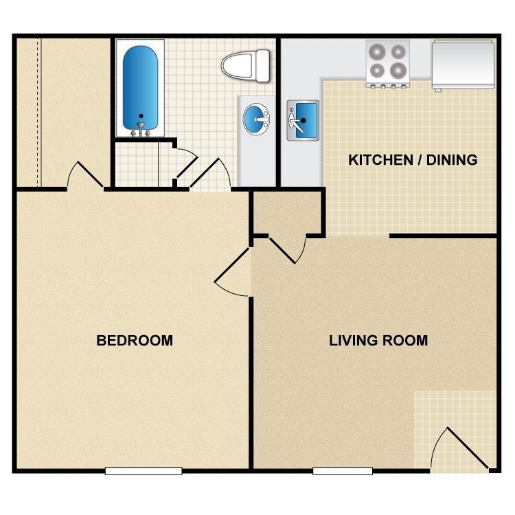 Floor plan image of A1 Santa Rosa