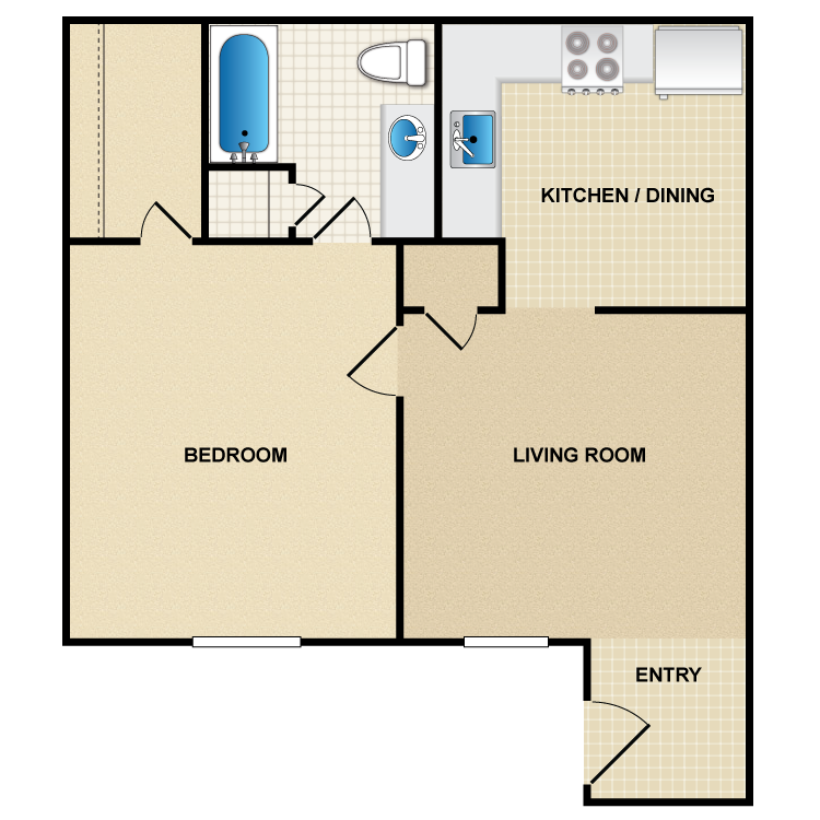 Floor plan image of A2 Sierra