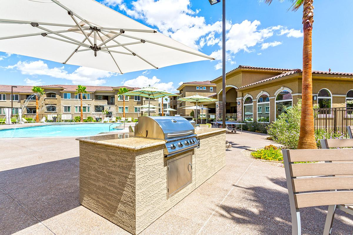 Barbecue at The View at Horizon Ridge in Henderson, Nevada