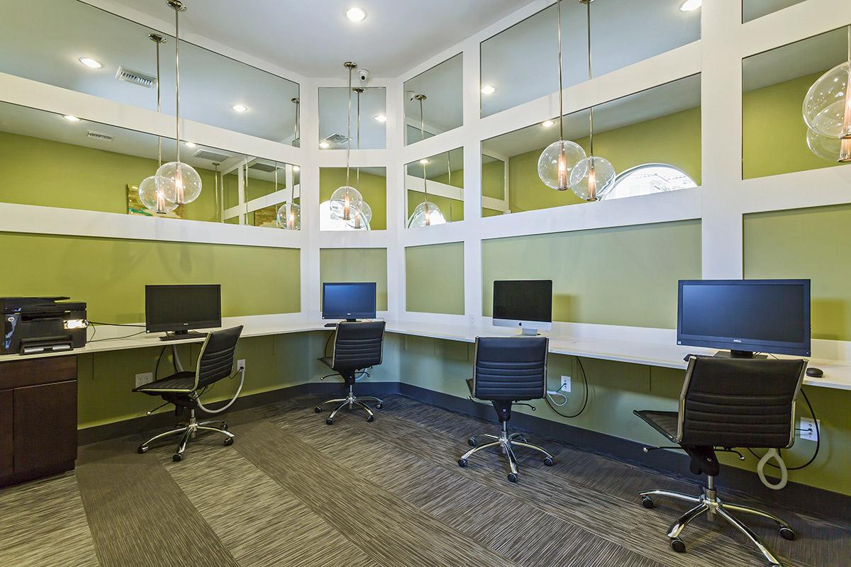 Business Center at The View at Horizon Ridge in Henderson, Nevada