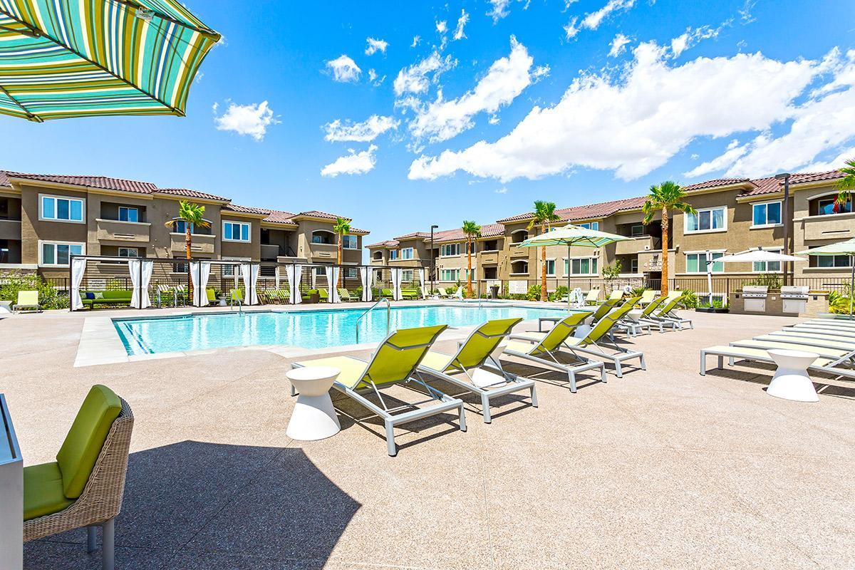 Swimming Pool at The View at Horizon Ridge in Henderson, Nevada