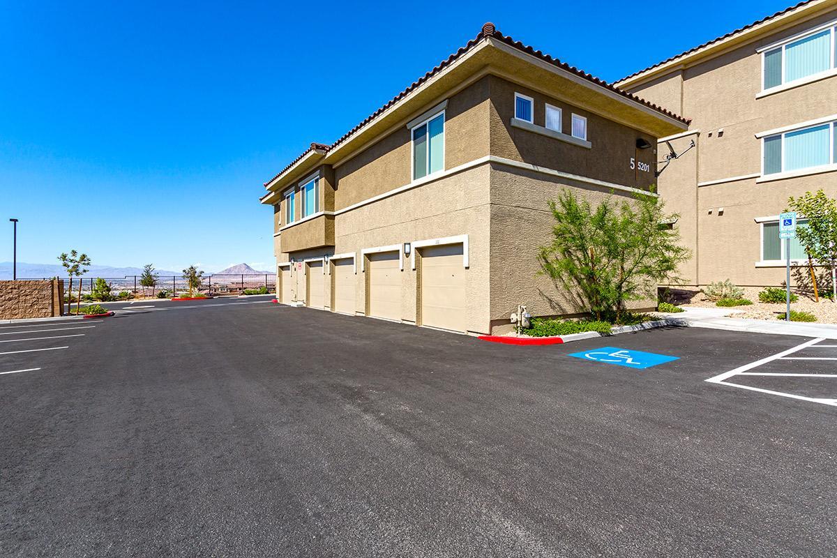 Garages at The View at Horizon Ridge in Henderson, Nevada