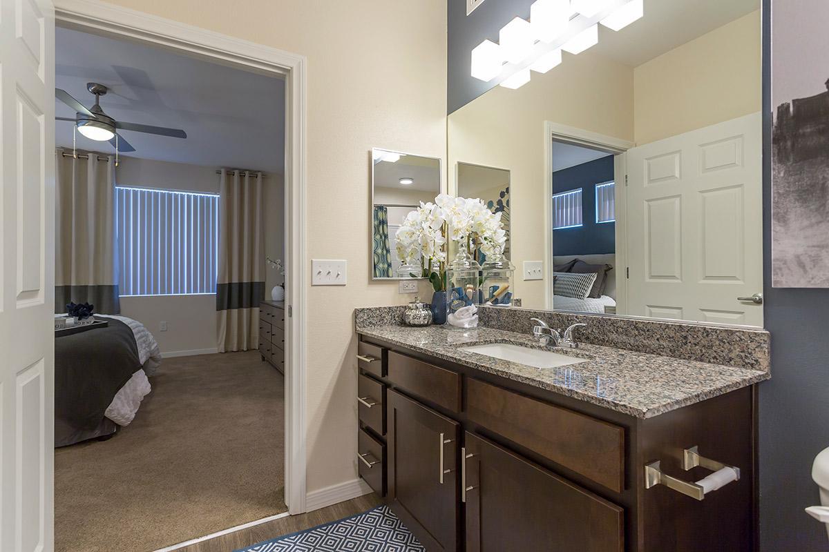 Bathroom at The View at Horizon Ridge in Henderson, Nevada