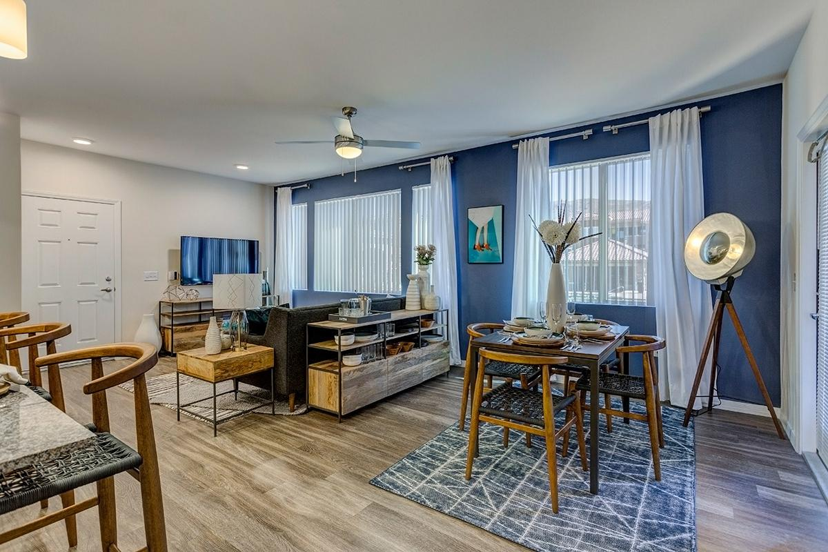 Dining Area at The View at Horizon Ridge in Henderson, Nevada