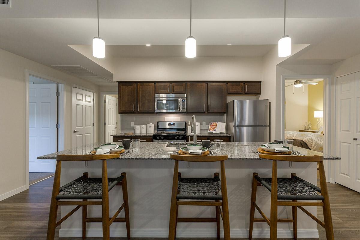 Gourmet Kitchen at The View at Horizon Ridge in Henderson, Nevada