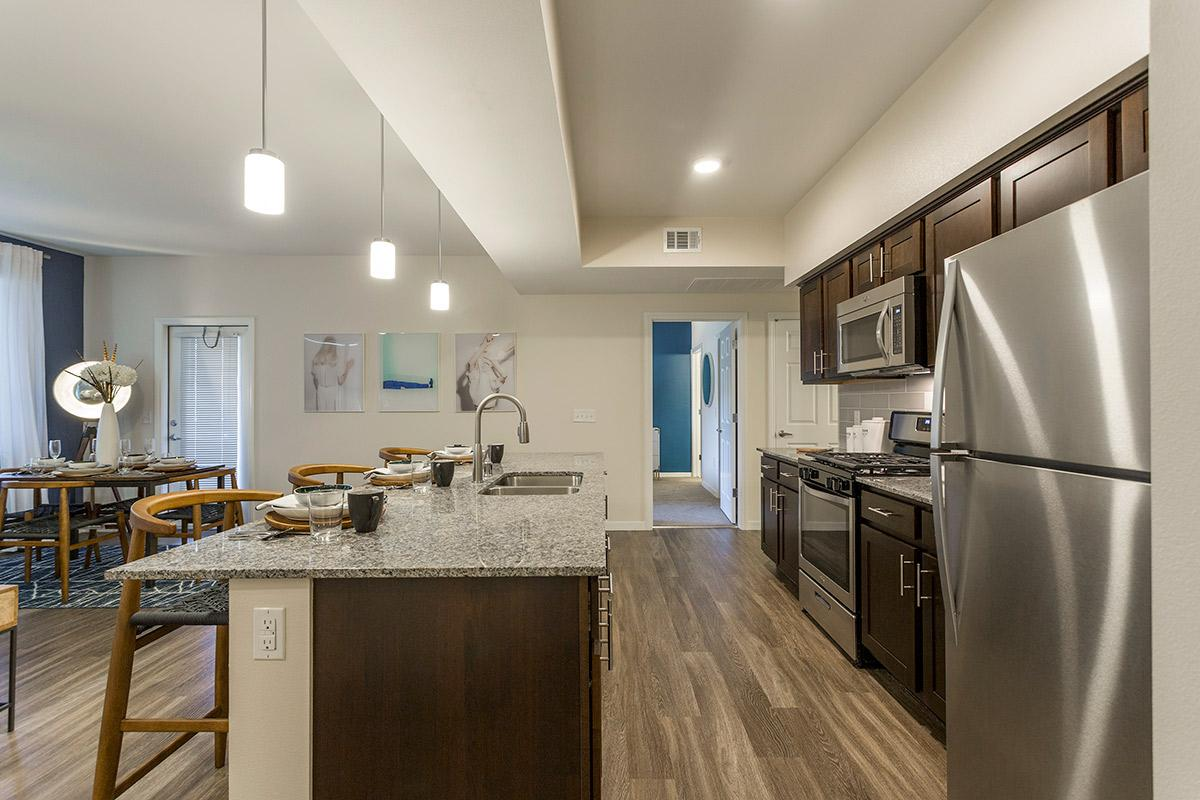 Stainless Steel Appliances at The View at Horizon Ridge in Henderson, Nevada