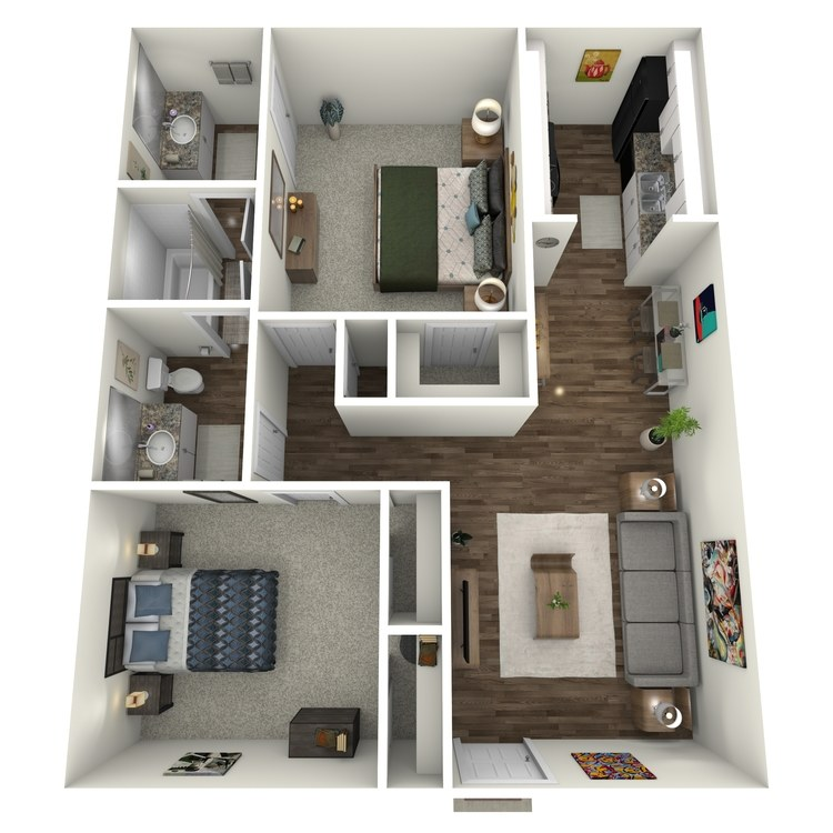 Floor plan image of B4