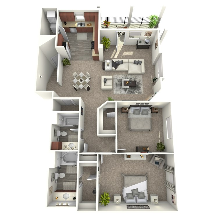 Floor plan image of The Berkley