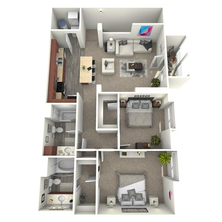 Floor plan image of The Pilar