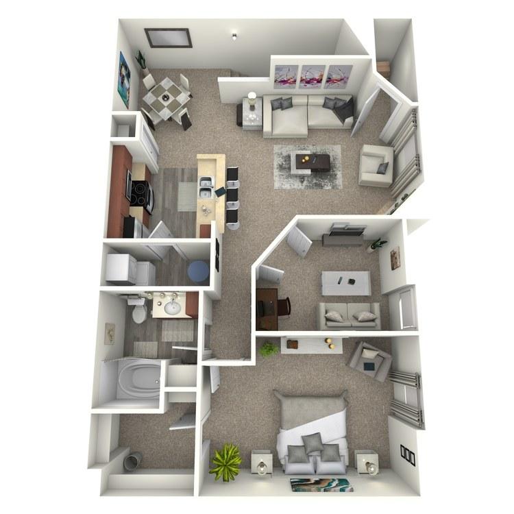 Floor plan image of The Ashley