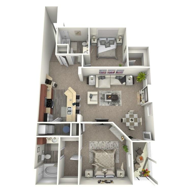 Floor plan image of The Jordan
