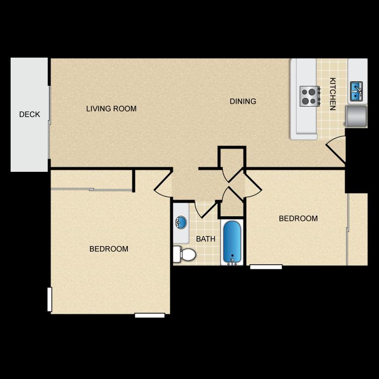 Floor plan image of Harborview