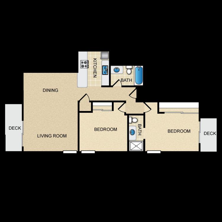 Floor plan image of Spinnaker