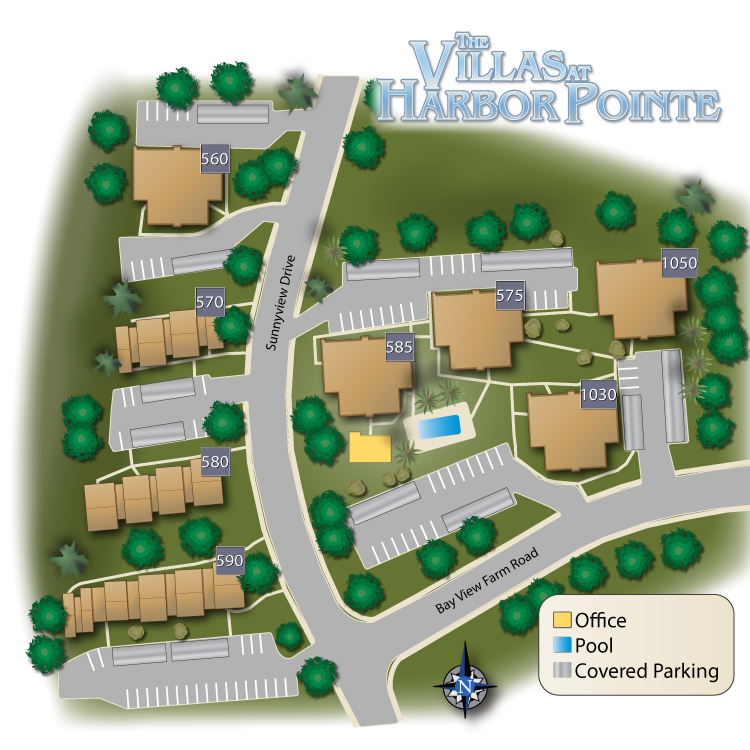 VillasHarborPointe Sitemap