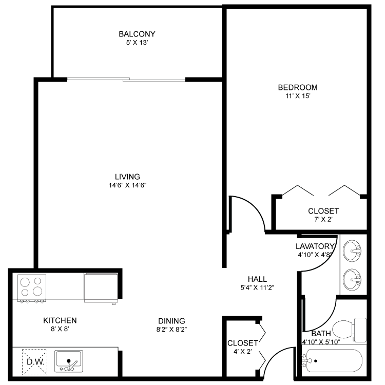 Regency Square Apartments Availability Floor Plans Pricing