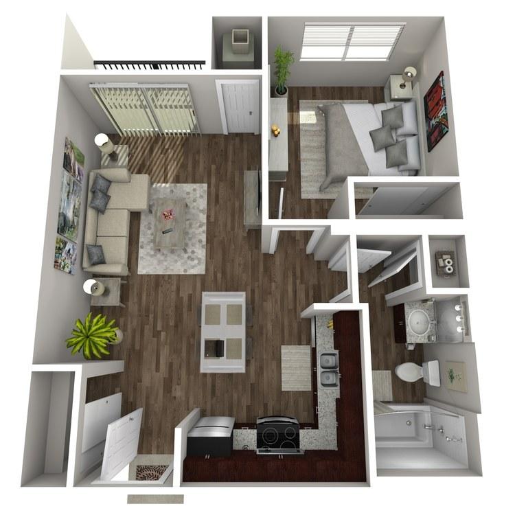 Floor plan image of Eby Creek