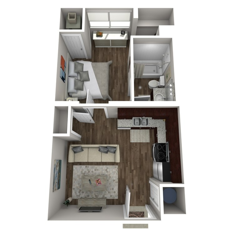 Floor plan image of Cottonwood Creek