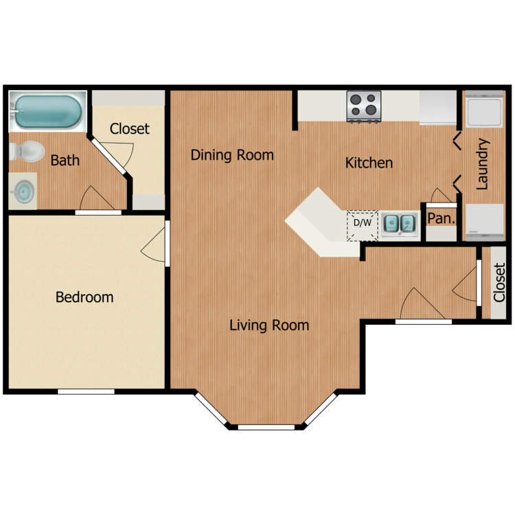 Floor plan image of Keystone