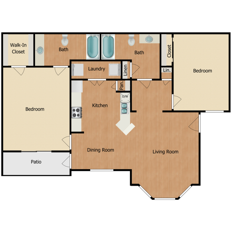 Floor plan image of Timberline