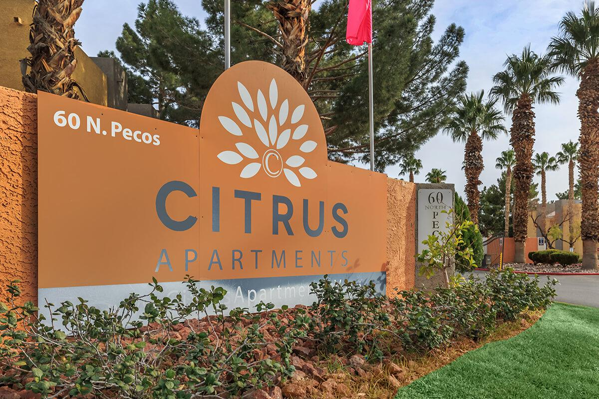 Your new home awaits at Citrus Apartments