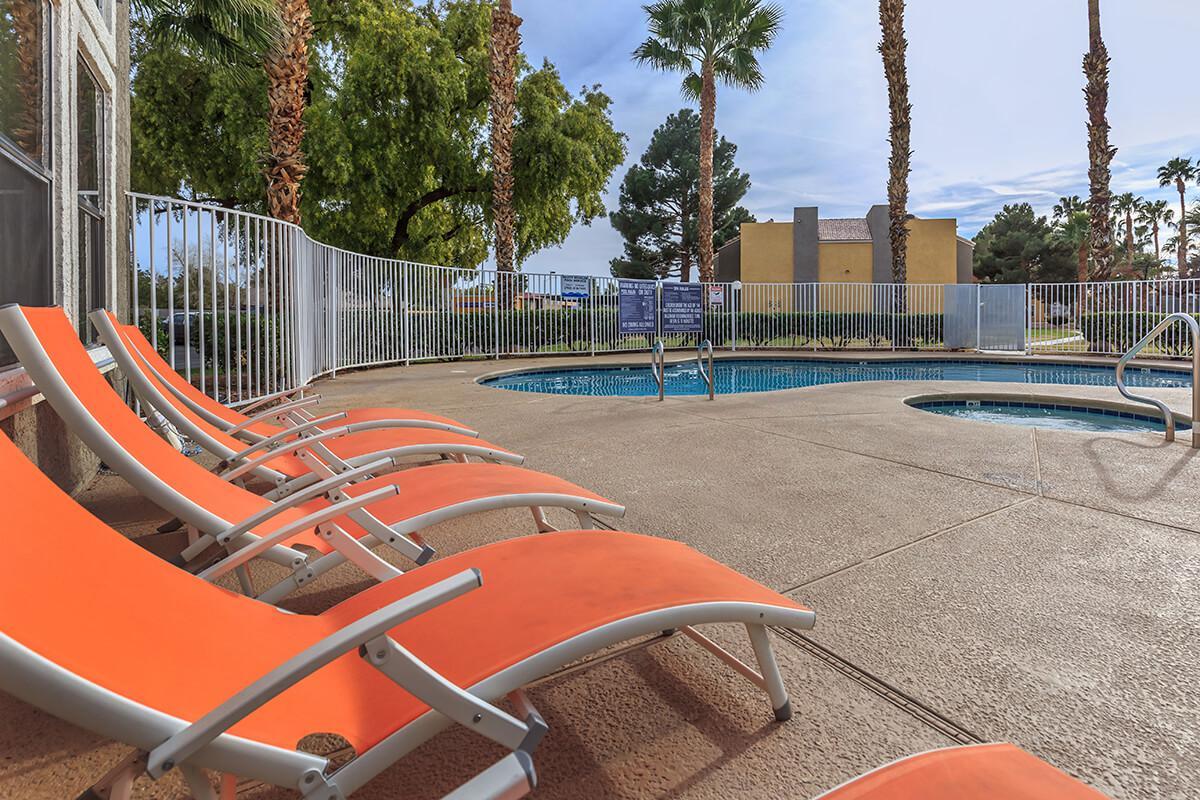 The vitamin D lounge at Citrus Apartments